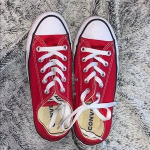 Converse Shoes - Red ain't my color